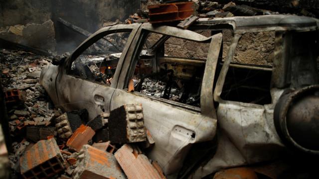 Número de mortos nos incêndios de outubro sobe para 45