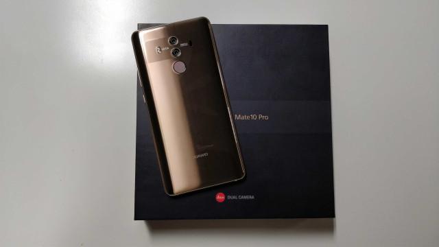Veja como é tirar da caixa o novo Huawei Mate 10 Pro