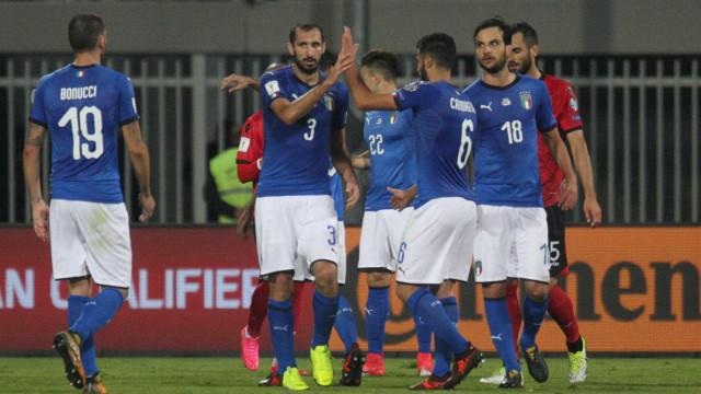 Itália defronta Suécia na caminhada para o Mundial de 2018