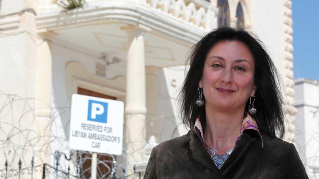 Recompensa de 1 milhão de euros por informações sobre morte de jornalista