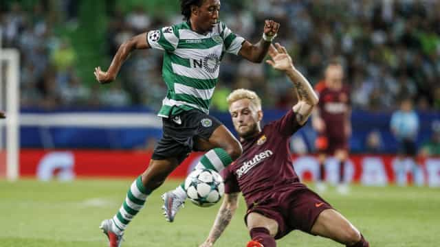 Jornal AS: Gelson Martins dado como certo no Atlético Madrid