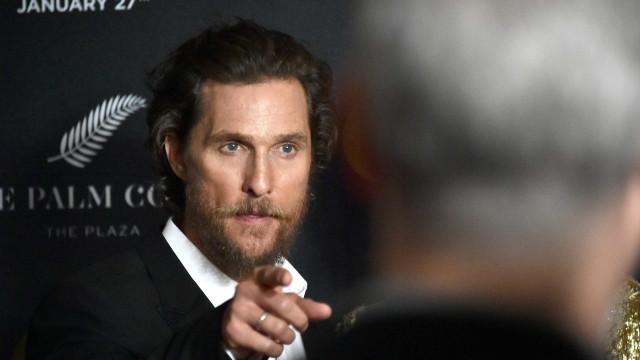 Matthew McConaughey salvou o filho de um carneiro selvagem