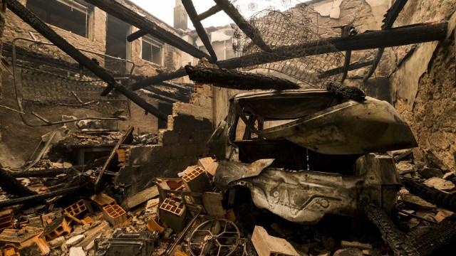 Cerca de 300 casas reconstruídas após fogos de outubro de 2017