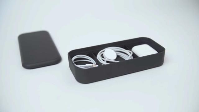 Demasiados acessórios Apple para viajar? Esta 'marmita' é a solução