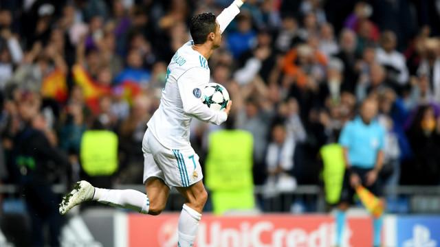 Golos europeus: Ronaldo é rei, Messi príncipe e pódio é sonho para três