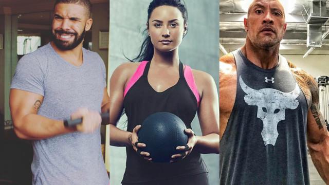 Famosos que motivam qualquer um a fazer exercício físico
