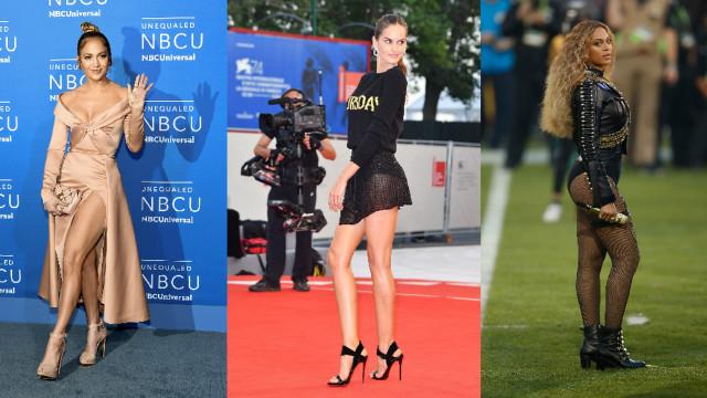 As famosas com as pernas mais bonitas