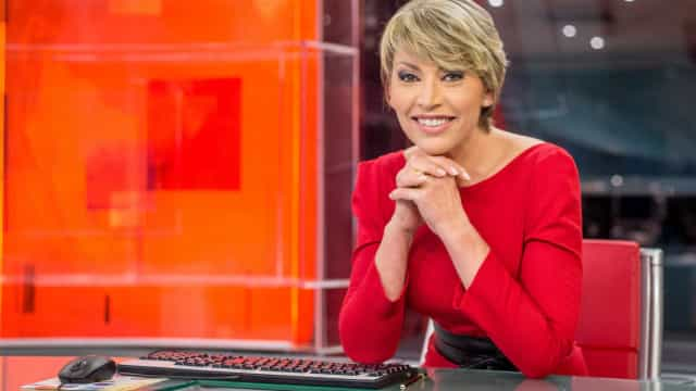Clara de Sousa despede-se dos estúdios da SIC em Carnaxide