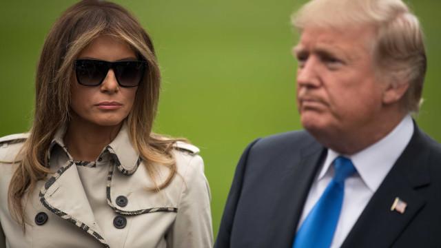 A nova teoria da conspiração: Será que Melania Trump tem uma sósia?