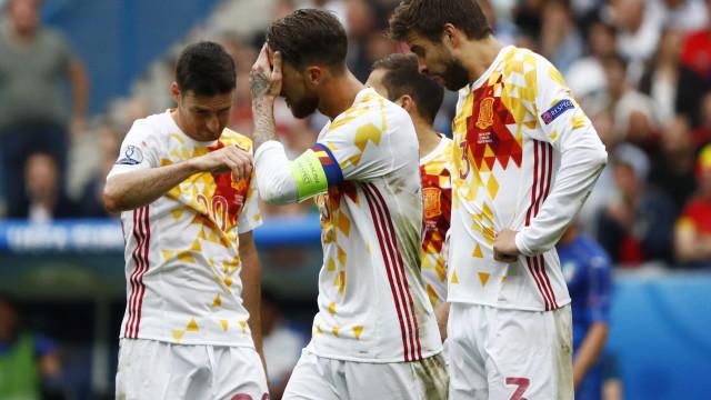 Sergio Ramos, Piqué e Busquets ameaçam abandonar seleção espanhola