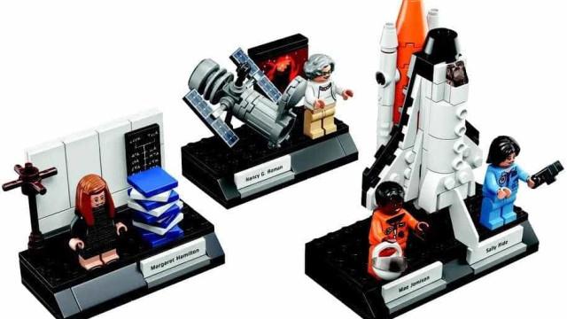 Mulheres da NASA homenageadas em figuras LEGO