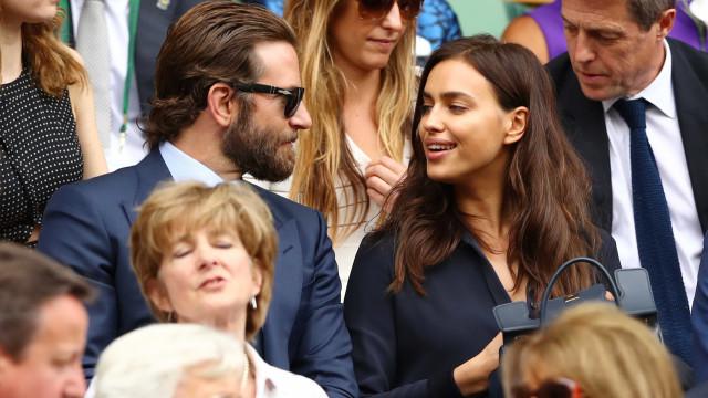 Bradley Cooper, Irina Shayk e filha vistos juntos pela primeira vez