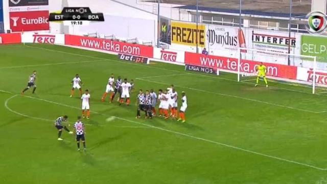 Ainda agora a 9.ª jornada começou e Carraça já marcou este golaço