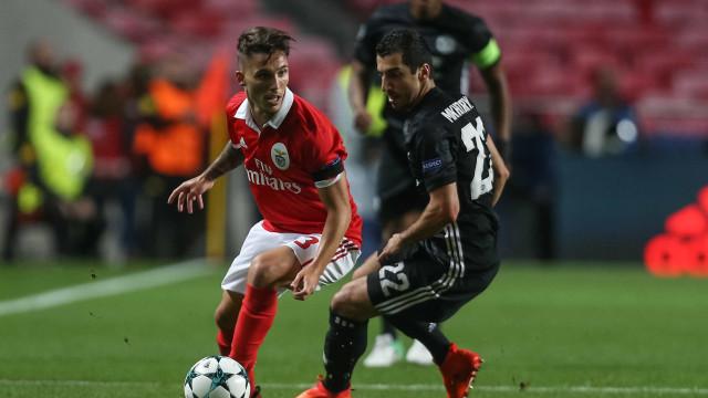 Grimaldo convenceu frente ao United e ganhou mais um interessado