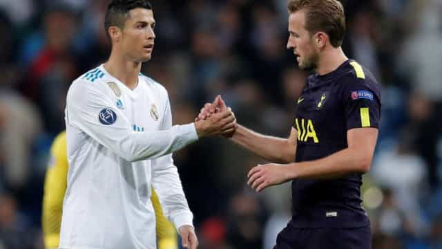 Harry Kane é o jogador mais valioso do mundo. CR7 fora do 'top20'