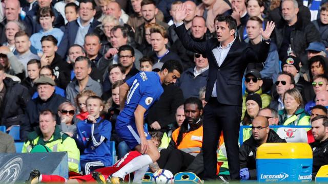 Marco Silva quase surpreende mas acaba derrotado em Stamford Bridge