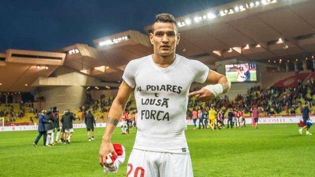 A dedicatória especial de Rony Lopes após o triunfo do Monaco