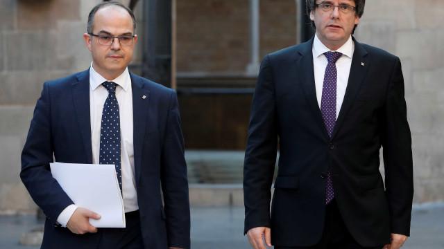 """""""Convocar eleições não está em cima da mesa"""", garante Generalitat"""