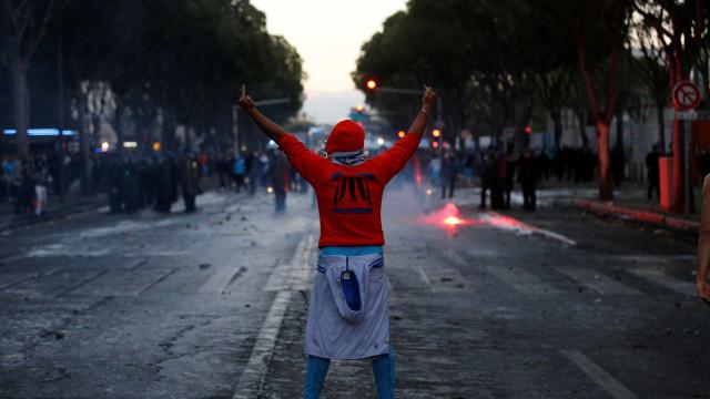 Marselha-PSG: Adeptos da casa entram em confrontos com polícia