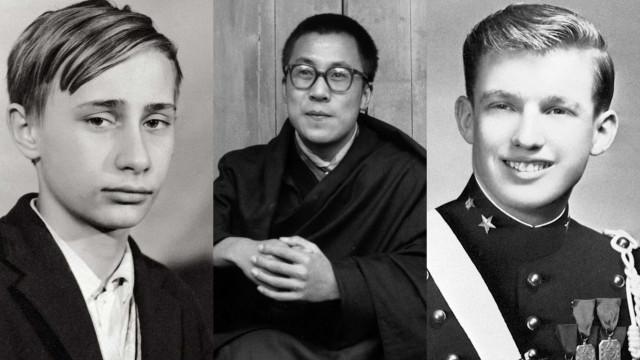 Como eram os líderes mundiais na adolescência?
