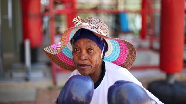 Murros contra a velhice. As 'avós' pugilistas da África do Sul