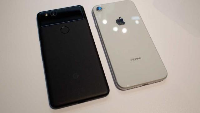 Pixel 2 vs. iPhone 8 Plus. Qual dos topos de gama tem a melhor câmara?
