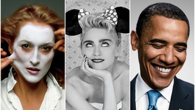 Rolling Stone após 50 anos: As fotos icónicas das celebridades