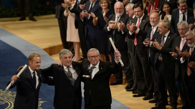 União Europeia vai doar às vítimas valor do prémio Princesa das Astúrias