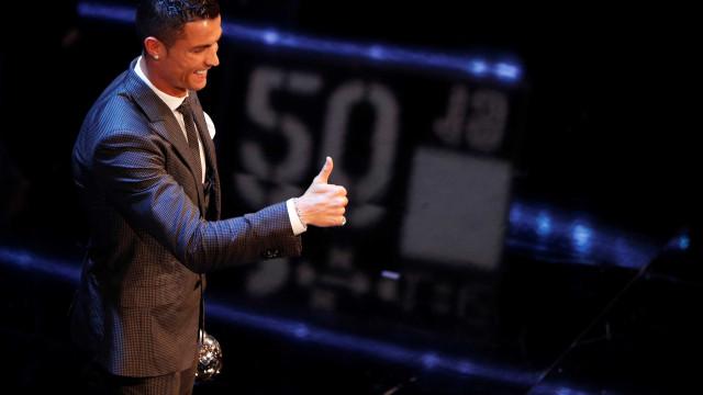 Cristiano Ronaldo assina petição sobre caso de violência doméstica