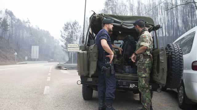 Mais de 60 fuzileiros em ações de dissuasão e prevenção contra incêndios