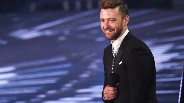 Justin Timberlake partilha momento divertido com o filho