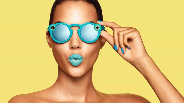 Empresa do Snapchat não desiste e vai voltar a lançar óculos com câmara