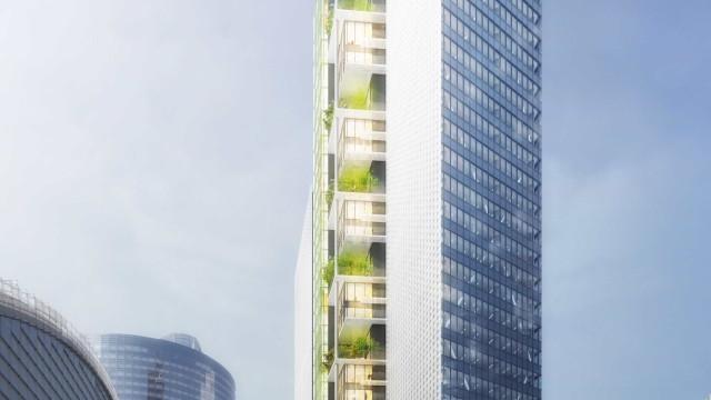 Marca portuguesa ajuda a construir torre no centro financeiro de França