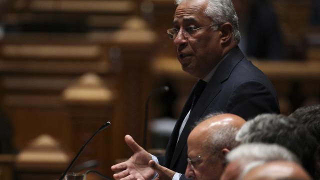 Costa cumprimentou e despediu-se de todos os líderes parlamentares