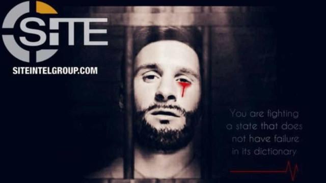 ISIS usa imagem de Messi para enviar mensagem de terror