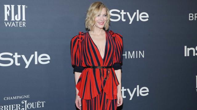 """Cate Blanchett: """"Ser sexy não significa que vos queiramos f****"""""""