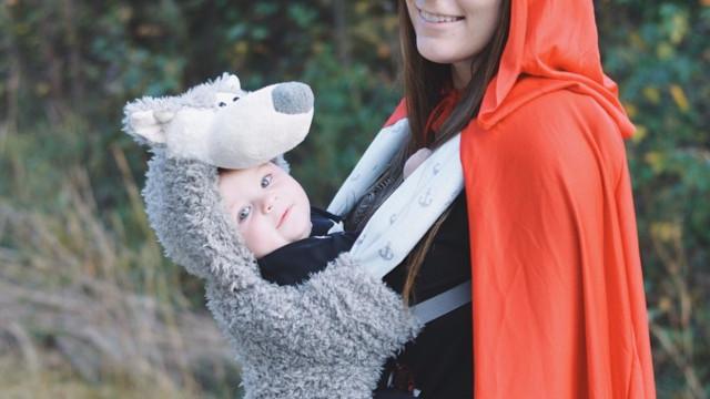 Halloween. E que tal combinar a máscara com a do seu bebé?