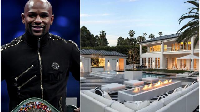 Conheça a incrível mansão de Floyd Mayweather que custou 25 milhões