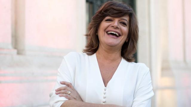 Em dia de estreia, Júlia Pinheiro recebe apoio do filho