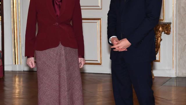 Harry distribuiu charme entre os dinamarqueses. Nem a rainha escapou