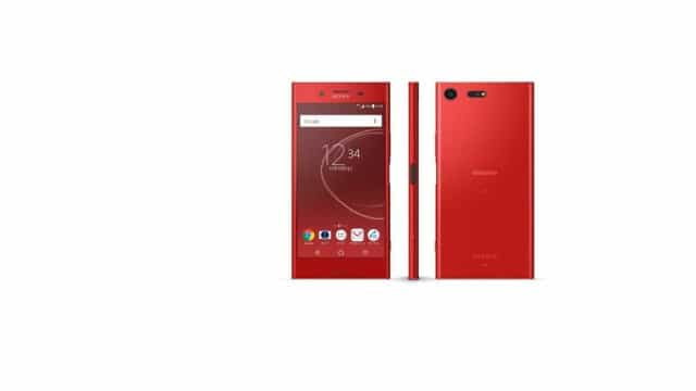 O topo de gama da Sony estará disponível em vermelho