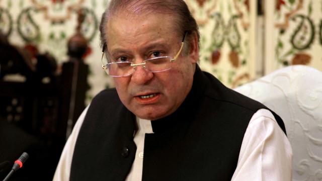 Ex-primeiro ministro paquistanês Nawaz Sharif foi preso