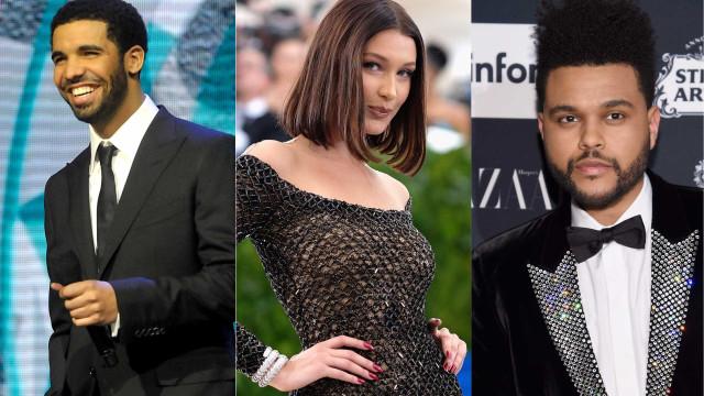 Drake começou a namorar com Bella Hadid. Adeus amizade com The Weeknd?