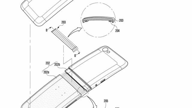 Smartphone dobrável da Samsung pode ter um design familiar