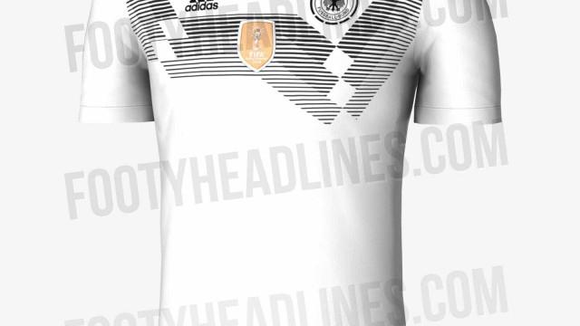 Alemanha, Brasil ou Portugal: As novas camisolas para o Mundial