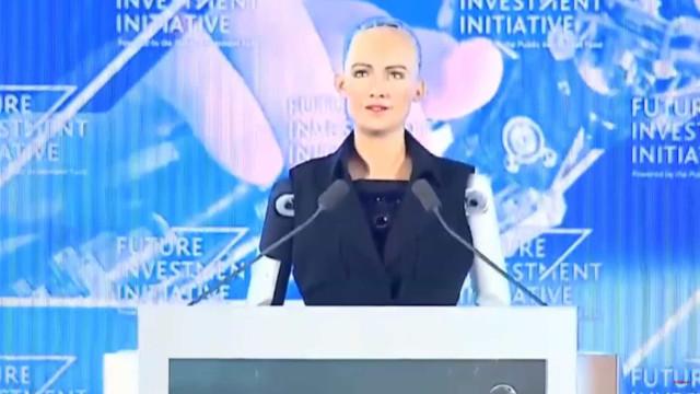 Robot recebeu cidadania e as críticas não se fizeram esperar