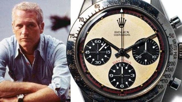 Rolex de Paul Newman torna-se o relógio de pulso mais caro de sempre