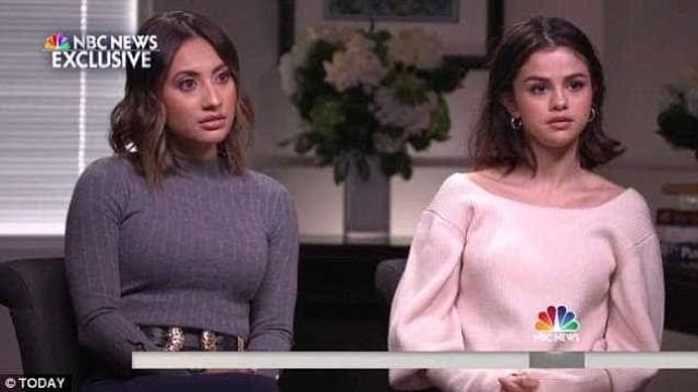 Emocionada, Selena fala pela primeira vez do transplante ao lado da amiga