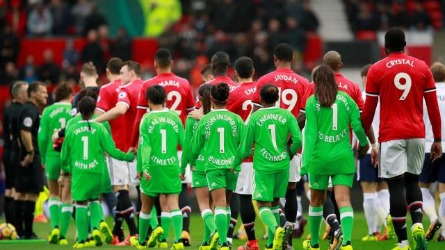 Manchester United entrou em campo com nomes errados, mas há um bom motivo