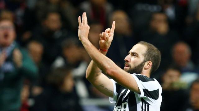 Chegada de reforços pode ditar adeus de Higuaín à Juventus
